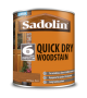 Sadolin Quick Drying Woodstain Ready Mixed Antique Pine 1L