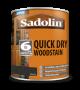 Sadolin Quick Drying Woodstain Ready Mixed Ebony 1L