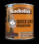 Sadolin Quick Drying Woodstain Ready Mixed Jacobean Walnut 1L