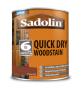 Sadolin Quick Drying Woodstain Ready Mixed Redwood 1L