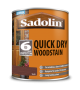 Sadolin Quick Drying Woodstain Ready Mixed Teak 1L