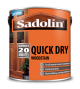 Sadolin Quick Drying Woodstain Tinted Colours  - 2.5L