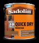 Sadolin Quick Drying Woodstain Ready Mixed Burma Teak 2.5L
