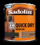 Sadolin Quick Drying Woodstain Ready Mixed Ebony 2.5L