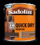 Sadolin Quick Drying Woodstain Ready Mixed Jacobean Walnut 2.5L