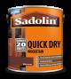 Sadolin Quick Drying Woodstain Ready Mixed Mahogany 2.5L