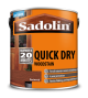 Sadolin Quick Drying Woodstain Ready Mixed Redwood 2.5L