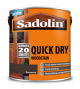 Sadolin Quick Drying Woodstain Ready Mixed Rosewood 2.5L