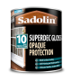 Sadolin Superdec Opaque Wood Protection Gloss White 1L