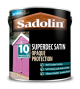 Sadolin Superdec Opaque Wood Protection Satin White 2.5L