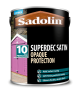 Sadolin Superdec Satin White 5L