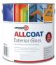Zinsser Allcoat Exterior WB Gloss White-2.5 lt