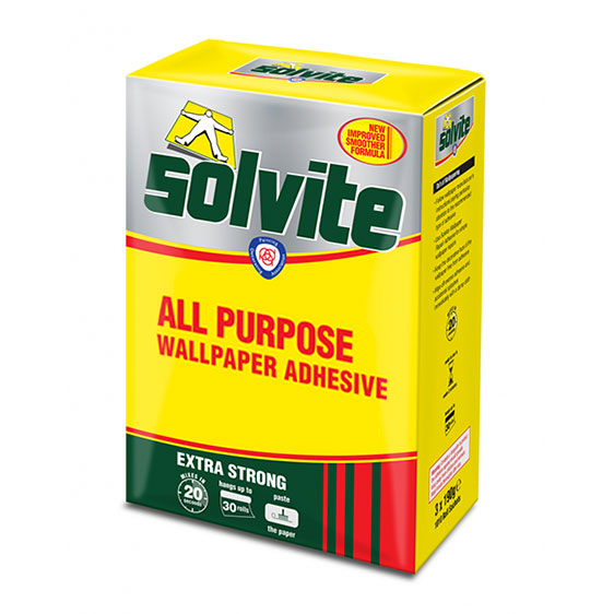 Buy Solvite Wallpaper Paste Online | Solvite Decorators Box | UK Stockist