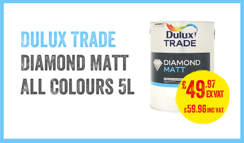 Image of tin of Dulux Trade Diamond Matt