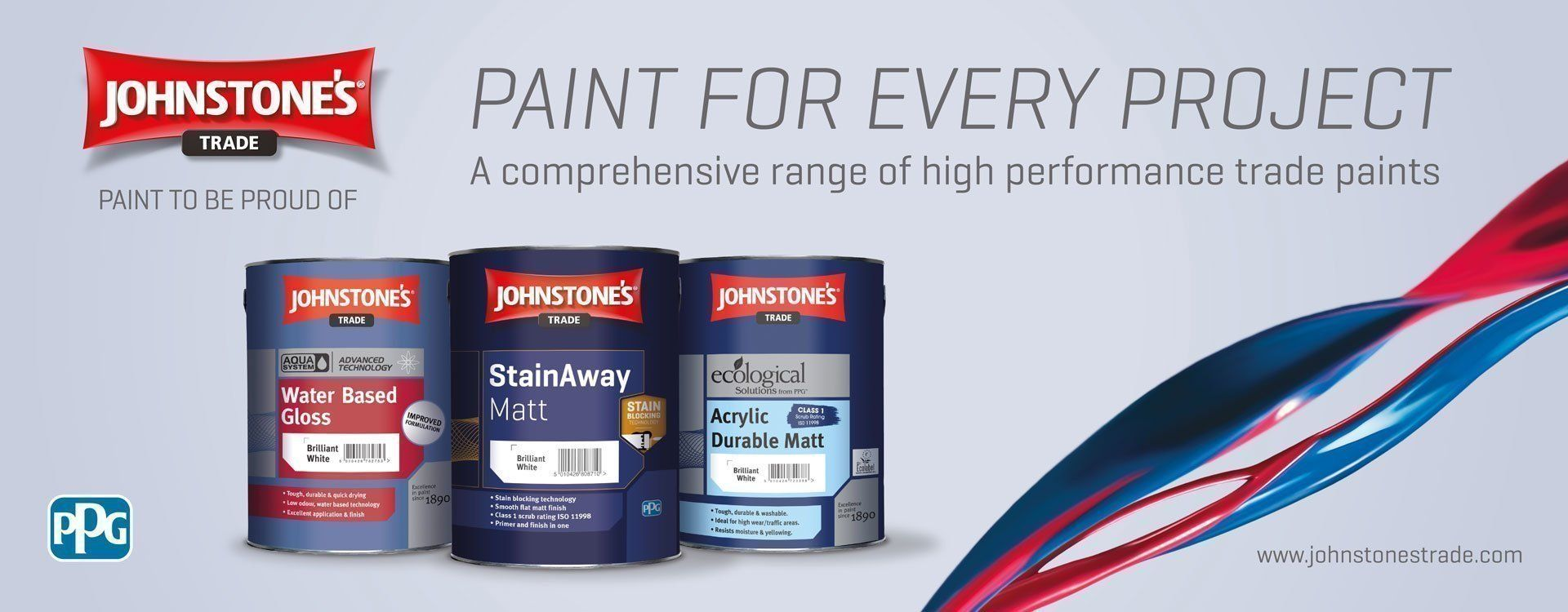 Johnstone's Trade Paint - Shop Online For Low Prices & Fast
