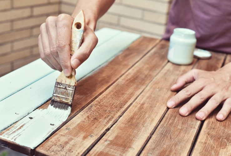 How To Paint Garden Furniture, What Do You Paint Wooden Garden Furniture With